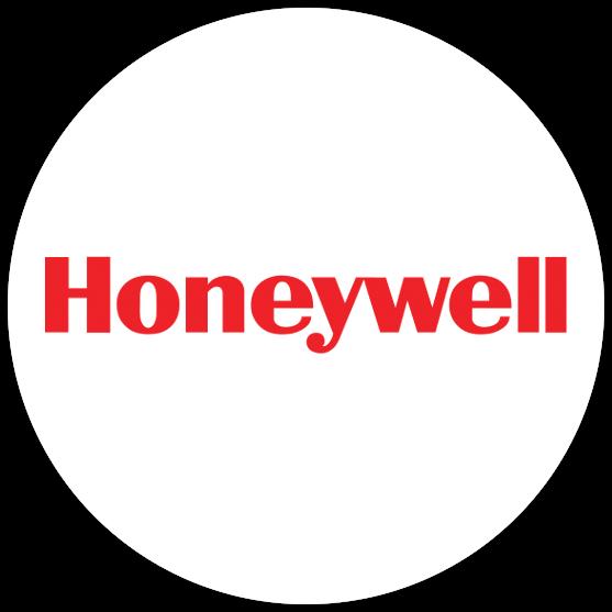 Honeywell logo w kółku 1